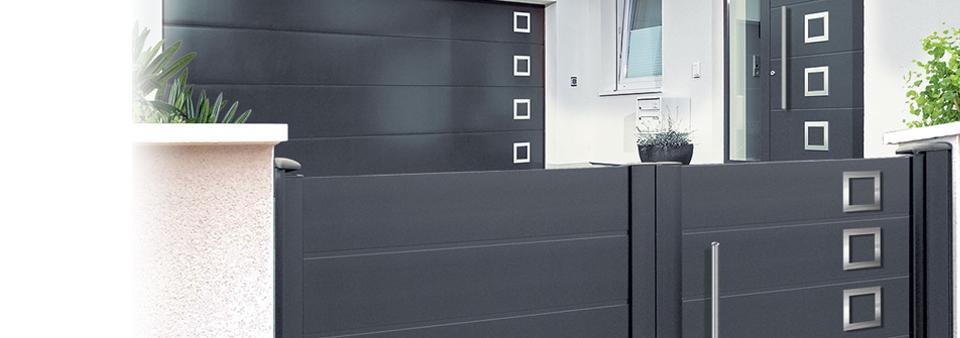 portes entrees alu pvc elr renov. Black Bedroom Furniture Sets. Home Design Ideas